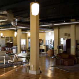 Kimmel & Associates 4th floor lounge